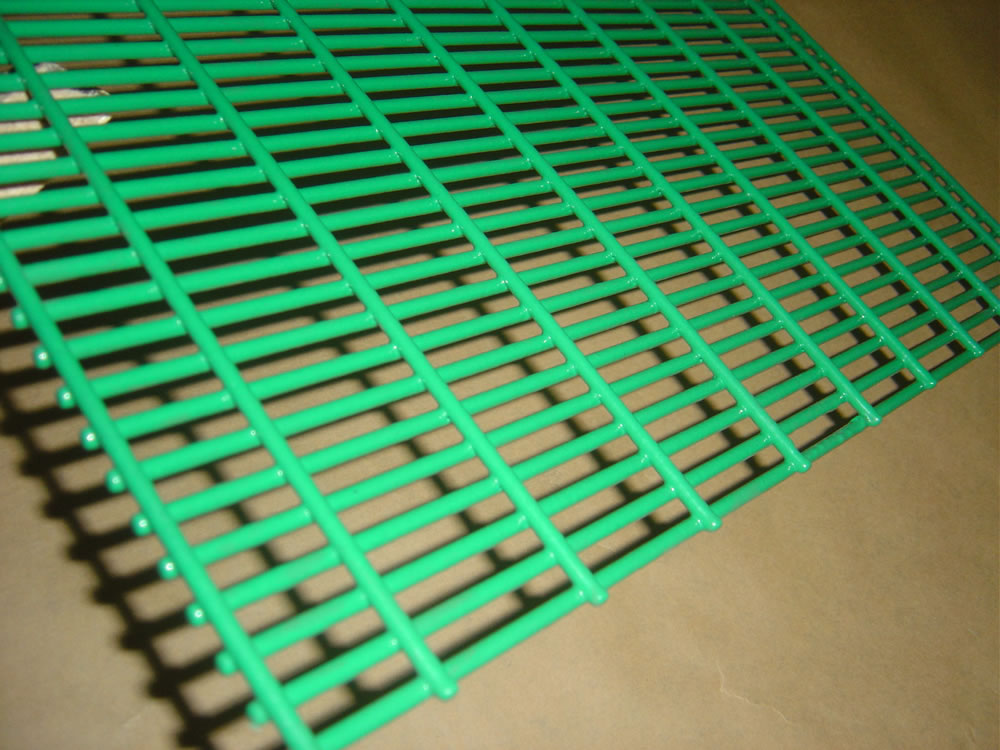 Welded wire panels fence and d wall