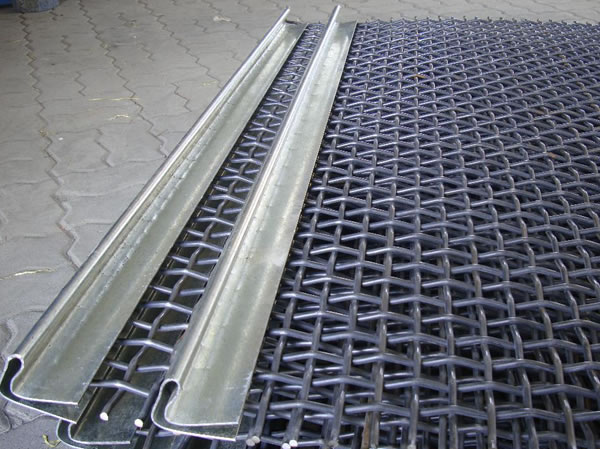 Galvanized Steel Square Mesh Woven Wire Cloth