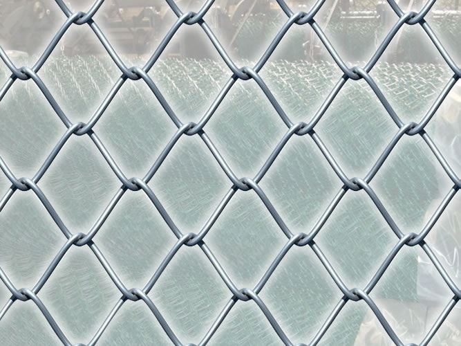 Portable Fence, Diamond Mesh -2 inch Mesh, 11 Gauge Wire