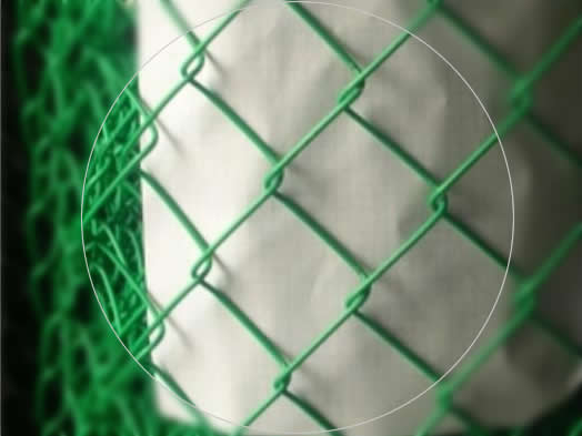 Galvanized Plastic Coating Mesh, Residential Fence